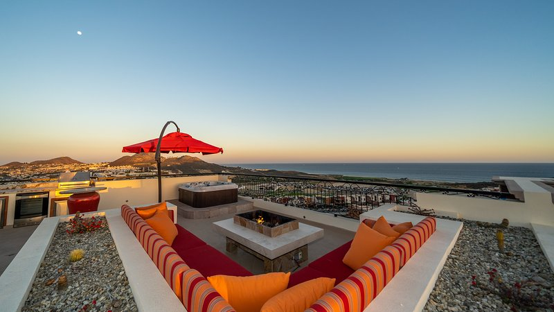 3 Bedroom Penthouse Copala at Quivira Los Cabos Fantastic Ocean View, holiday rental in Cabo San Lucas