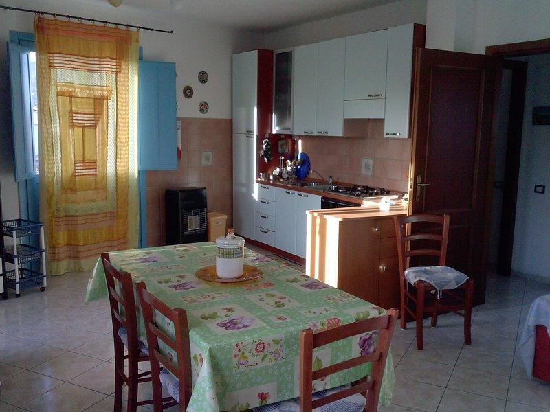 Beautiful apartment near the beach, vakantiewoning in Lotzorai