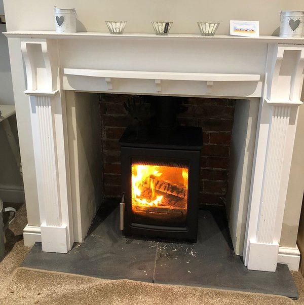 A lovely warm fire for those colder days
