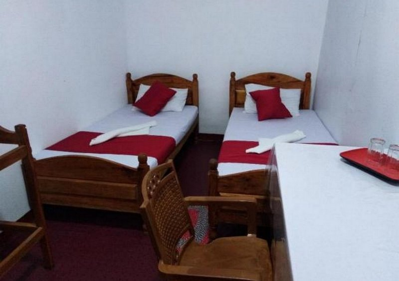 beds in the superior double room