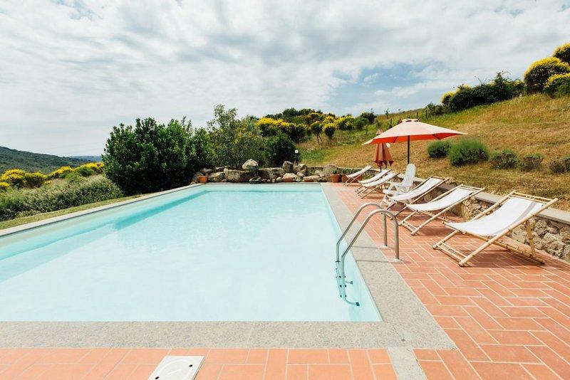 Amazing villa with swimming-pool, vacation rental in Santa Fiora