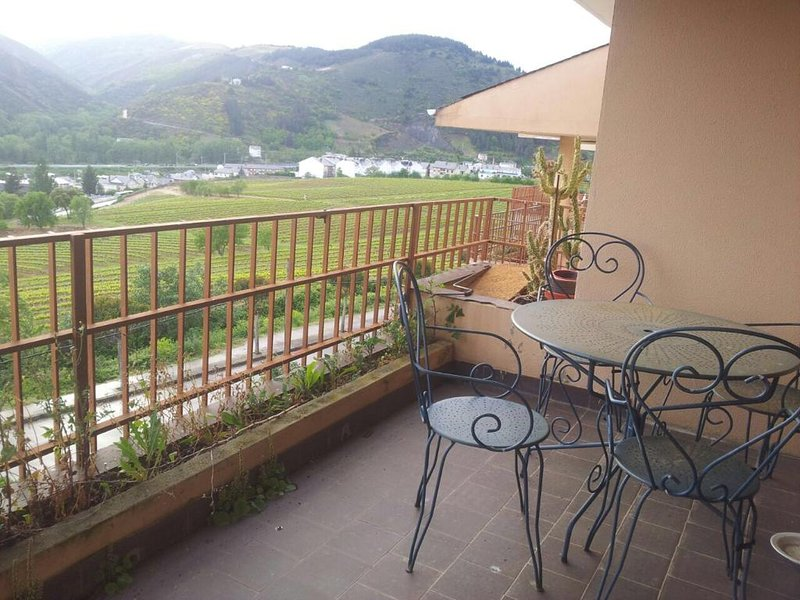 Nice apartment with shared pool, holiday rental in Arganza