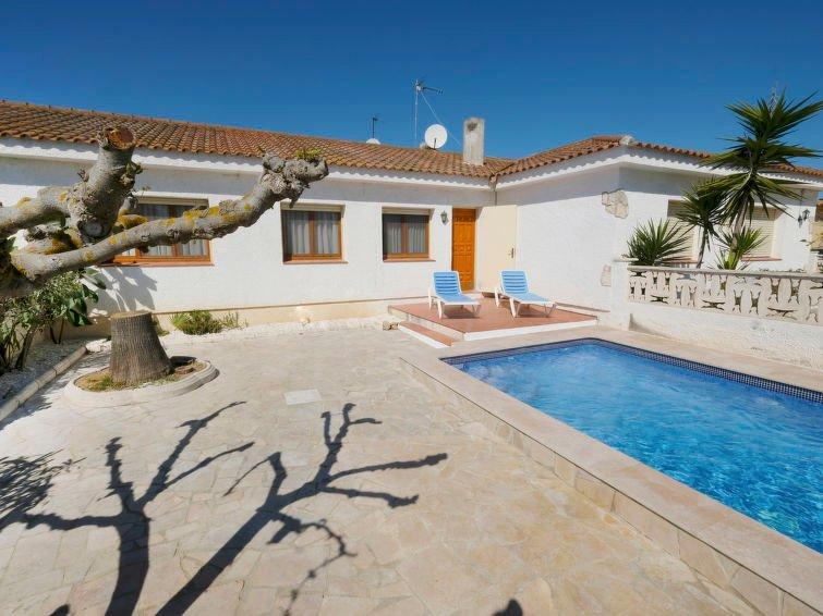 Villa confortable en RIUMAR (Delta del Ebro)+PISCINA PRIVADA, 7 pers., aluguéis de temporada em Riumar