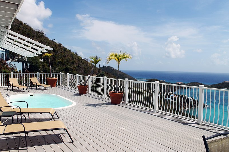 Million Dollar Caribbean Views | Private Pool and Hot Tub, vacation rental in Cruz Bay
