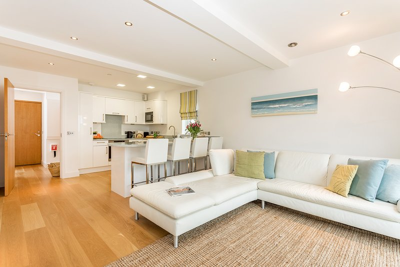 Stunning open plan living on the beach front