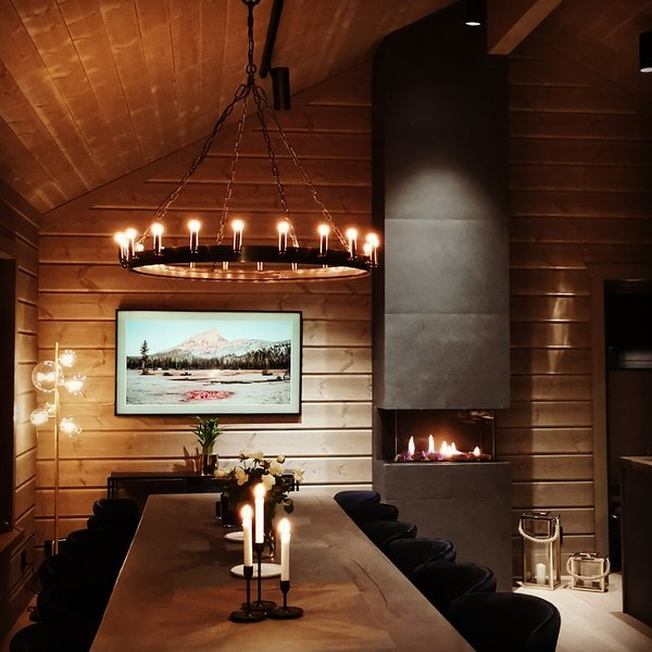 Timblalodgen is a luxurious cabin with annex. 270 squaremeter. Sogndal Skisenter, location de vacances à Sogn og Fjordane