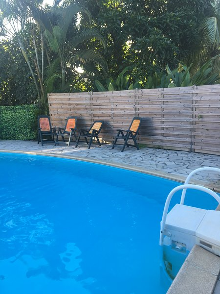 Beautiful house with swimming-pool, holiday rental in Baie-Mahault