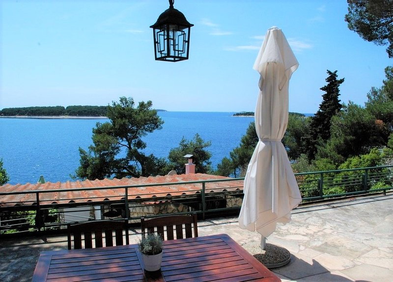 Beautiful house by the sea in Primosten - Drago, holiday rental in Primosten