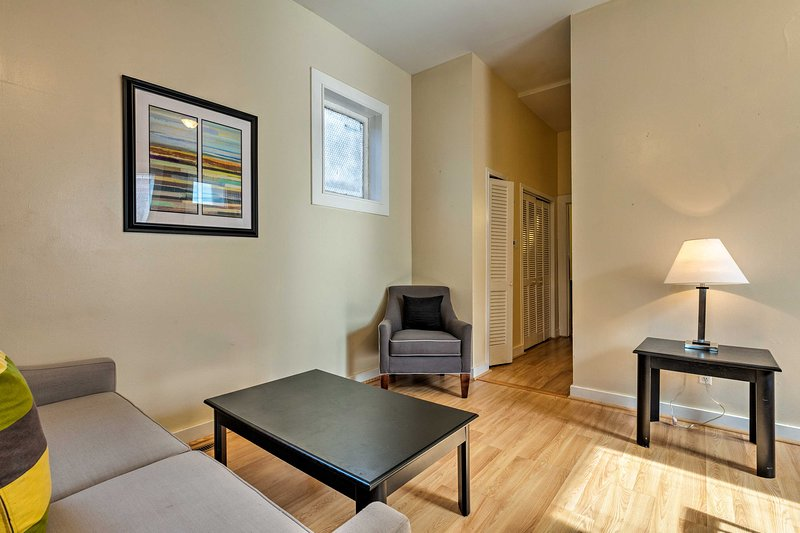 The 1-bedroom, 1-bathroom vacation rental for 4 promises a relaxing stay!