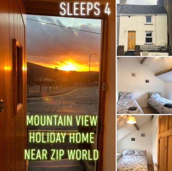 Mountain View Near Zip World - Child/Pet Friendly, location de vacances à Bangor