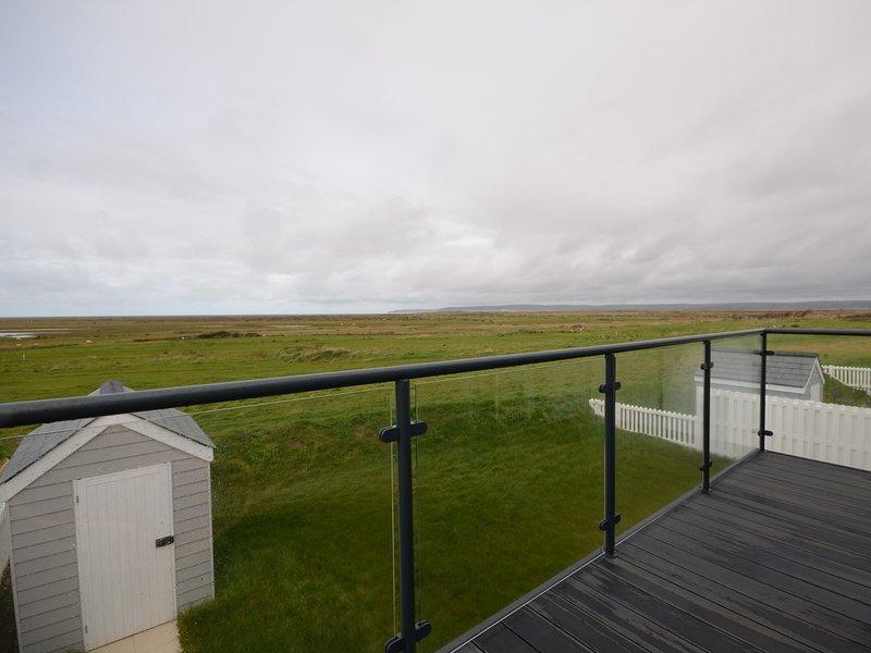 Far reaching sea views from the balcony area