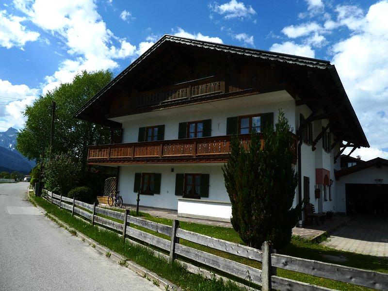 Ferienwohnung 'Signalkopf' in Wallgau / Bayern, vacation rental in Ohlstadt