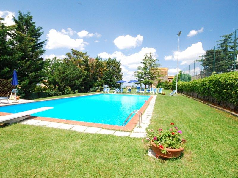 Villa in San Gimignano ID 3615, alquiler de vacaciones en Pancole