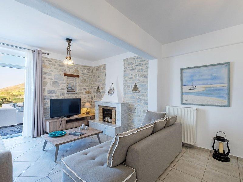 Villa Elitas III, location de vacances à Agios Charalampos