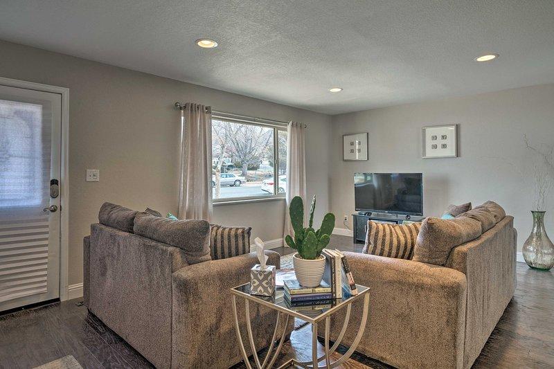 Comience su aventura en Colorado Springs en esta casa de vacaciones.