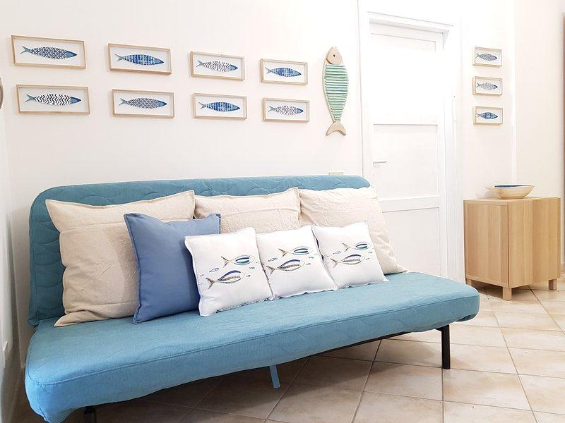 Villasimius Comfortable Apartment , Box, Climate, Terrace, alquiler de vacaciones en Villasimius