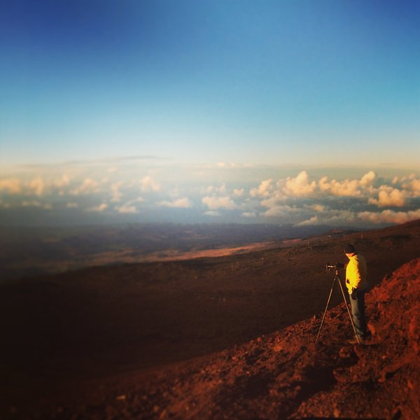 Sunset at Haleakala National Park