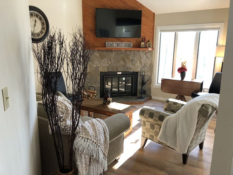 A warm and cozy living room awaits you
