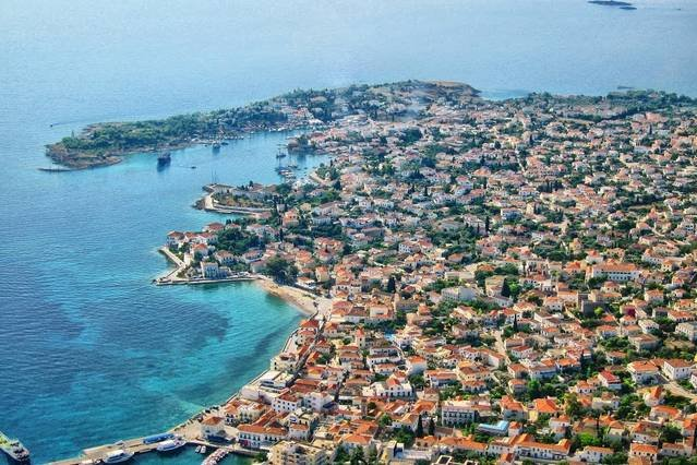Spetses from above