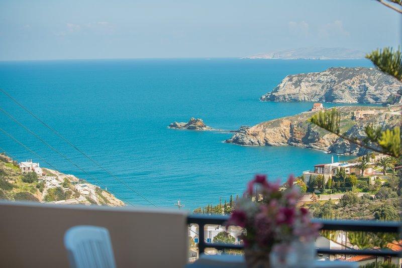 F&K Apartment A1, Agia Pelagia, vacation rental in Agia Pelagia