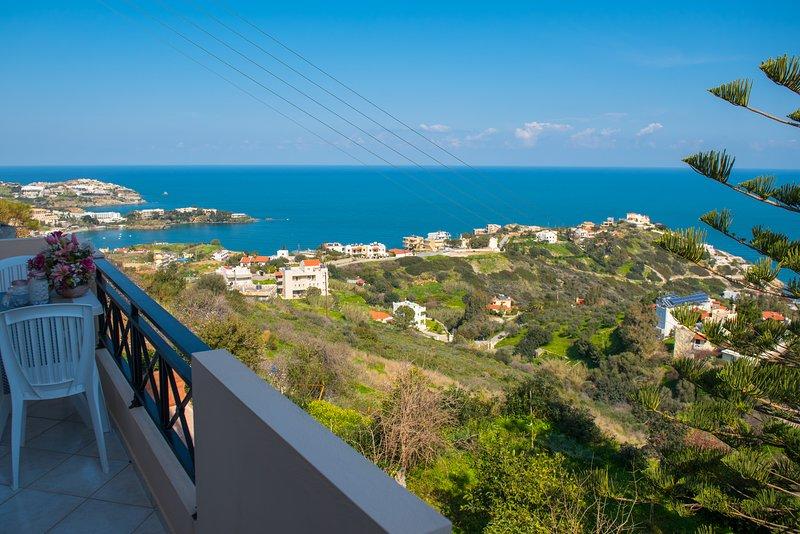 F&K Apartment A2, Agia Pelagia, holiday rental in Achlada