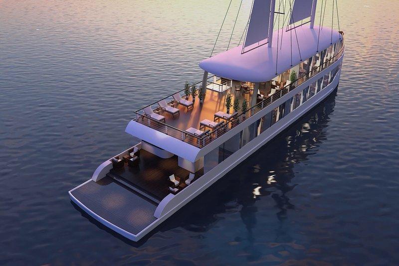 Crucero JadeSails: el día más lujoso de la bahía de Halong