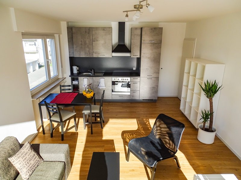 Renoviert & möbliert - 2 Zi. Apartment Nähe Frankfurt - Kurzzeit-Miete möglich, holiday rental in Offenbach