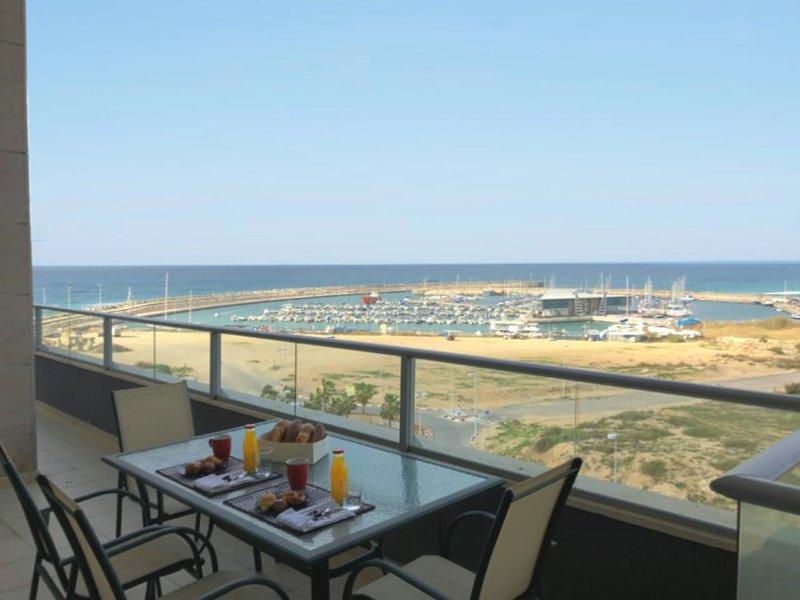 Luxury Marina View, holiday rental in Ashdod