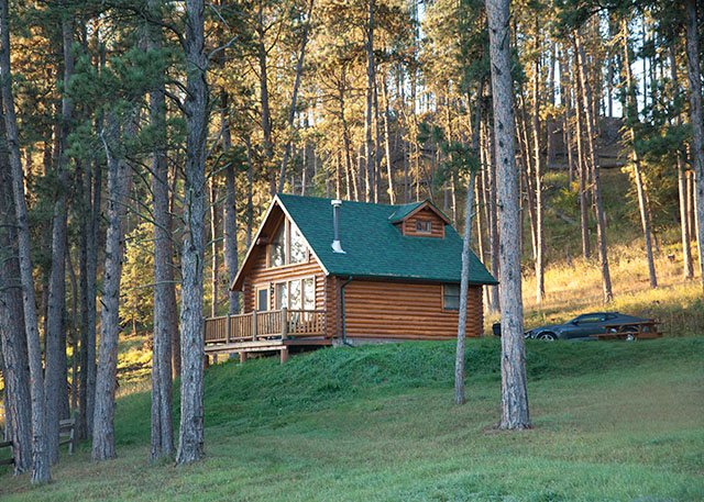 Forest Haven Cabin - Newton Fork Ranch, vacation rental in Hill City