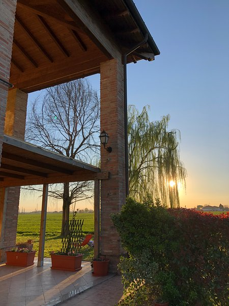 Apartment in the Bologna's Countryside, holiday rental in Molinella