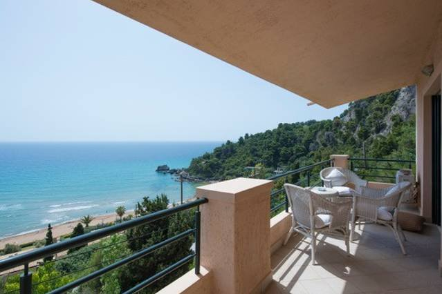 2BR Suite | Glyfada Beach Sea View Apartments, holiday rental in Vatos