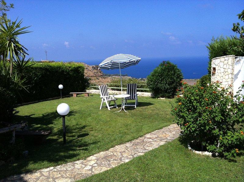 Scopello Savi-house Vista mare, holiday rental in Villaggio Sporting