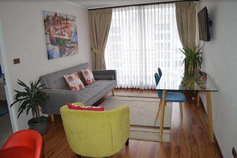 Apartamento Don Felipe III Ciudad de Concepción, Chile, location de vacances à Talcahuano