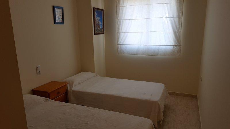 Third Bedroom two beds 0.90 x 1.80