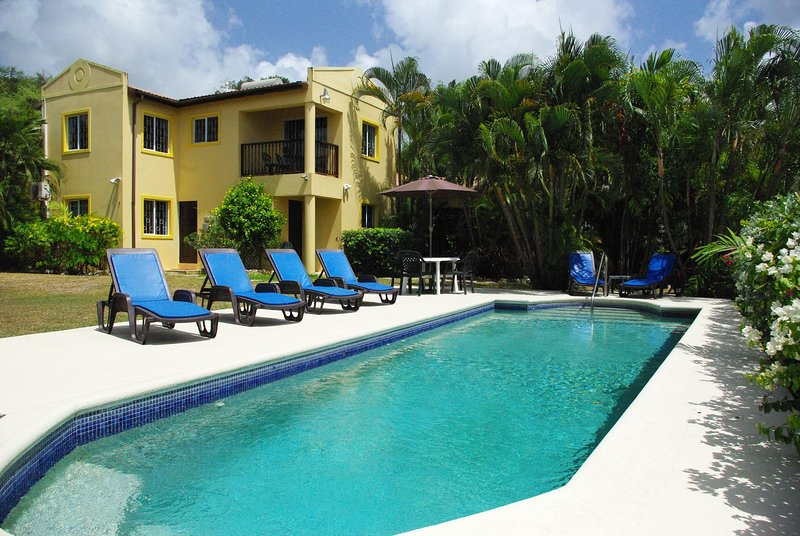 Stunning 3 Bed Child Friendly Villa with Ocean views. Private Pool. St James,, holiday rental in Black Rock