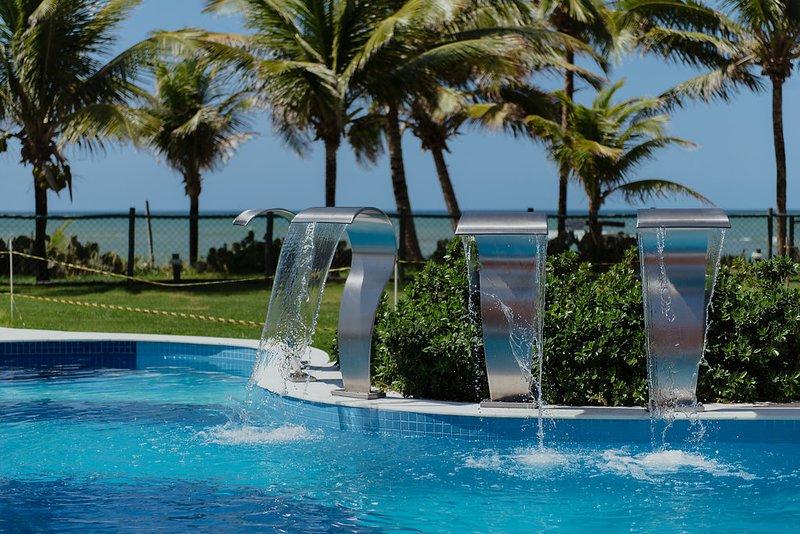 MELHOR DE GUARAJUBA SUMMER HOUSE GENIPABU 2SUL 201, holiday rental in Abrantes