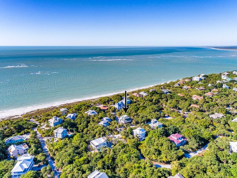 We are North Captiva;s most renown address located on an exclusive cul de sac 300 steps to the beach