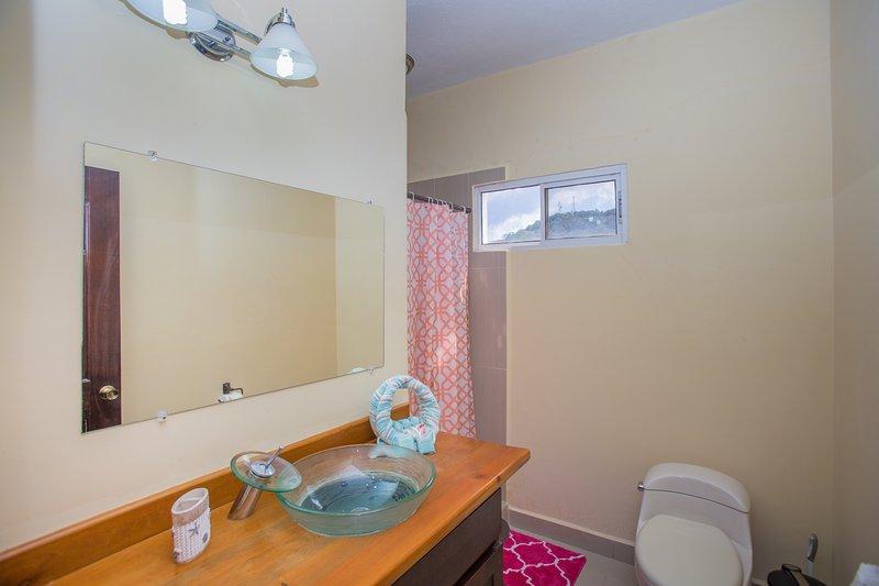 Bathroom #1  upstairs