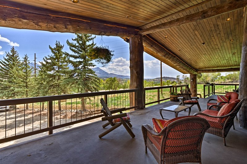 Paonia Apt. on Working Farm w/Deck & Mtn. Views!, vacation rental in Hotchkiss