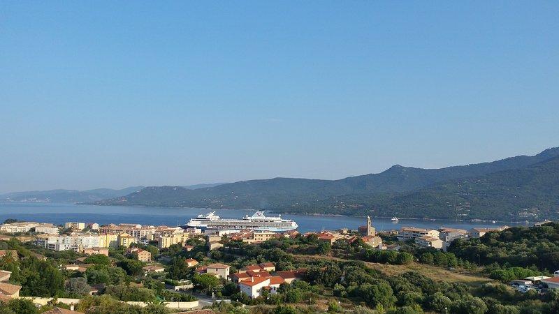 Casa Régina - vue sur le port de Propriano