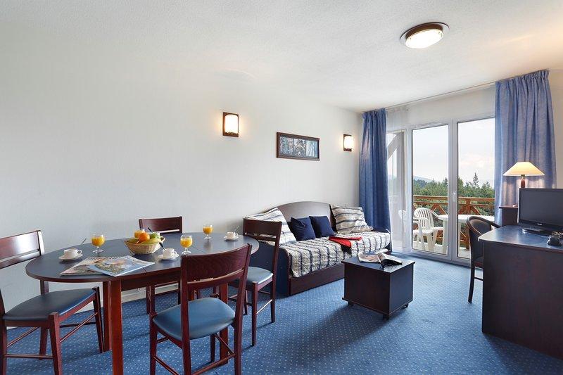 ¡Bienvenido a nuestro acogedor y encantador apartamento en Bolquère Pyrénées 2000!