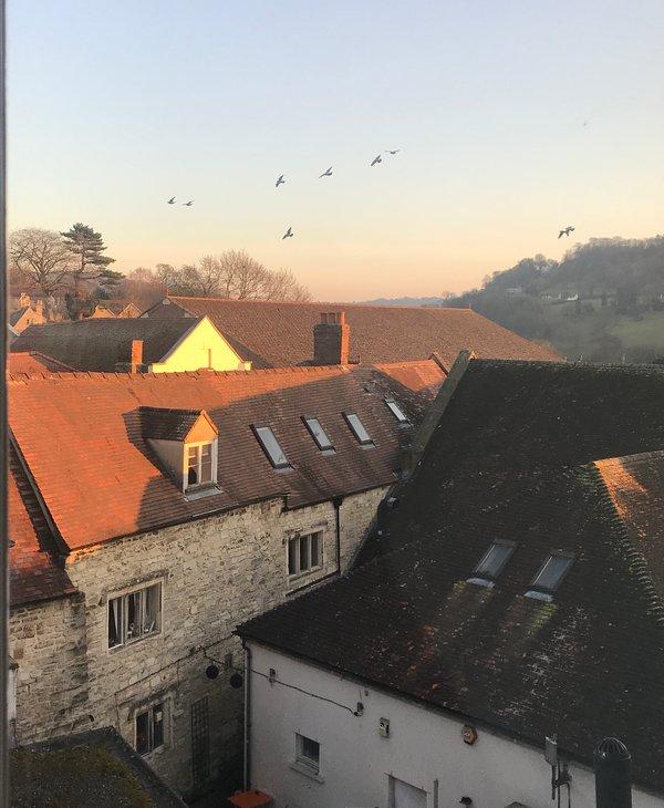 """Windows Over Stroud -A Modern Penthouse Apartment"""