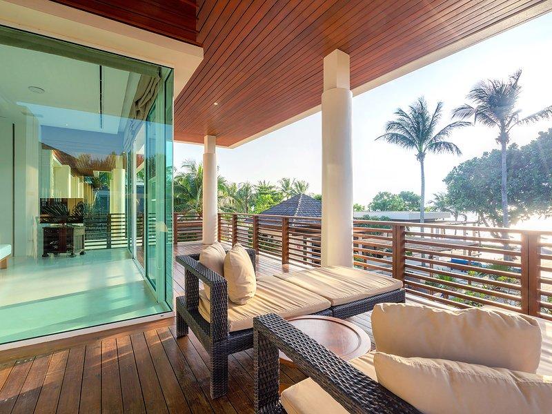 Villa Yaringa - Upper floor sitting area