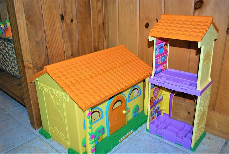 Dora Play Set & Blocks for the kids