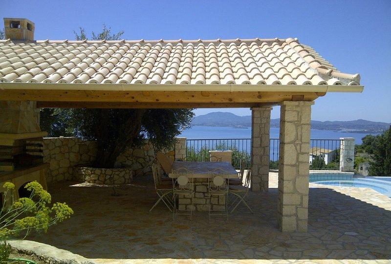 Villa Lykaios, vacation rental in Nissaki