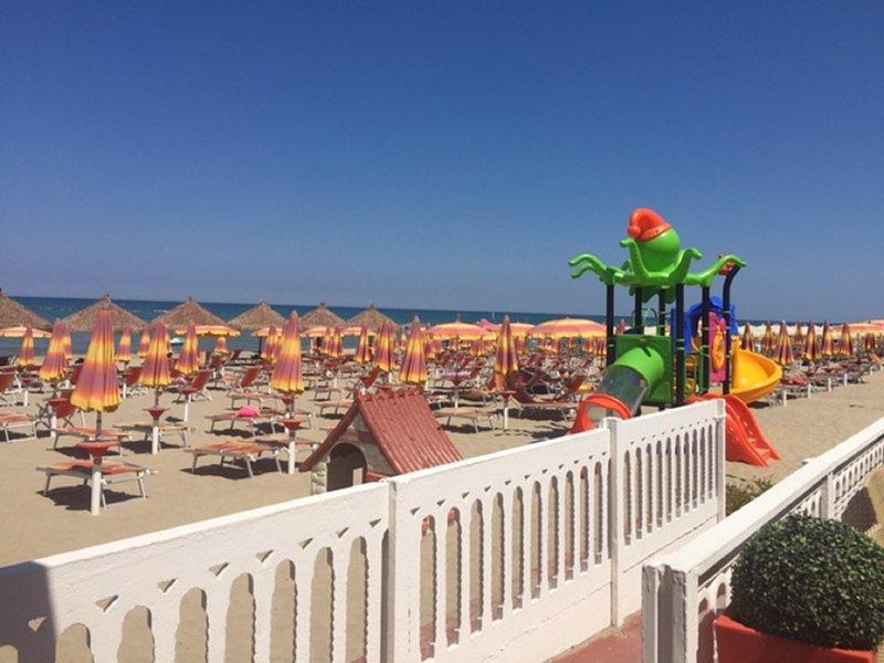beach play area