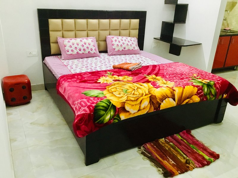Uttam 2 Private Bedrooms_Medanta Hospital Gurgaon, vacation rental in Gurugram (Gurgaon)