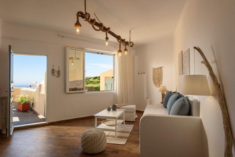 Four Seasons Mansion - Superior Cave Apartment, location de vacances à Vothonas