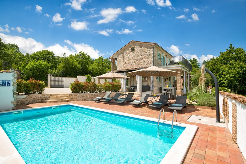 Authentic Villa Iva, in Istria, with a Pool, vacation rental in Filipini