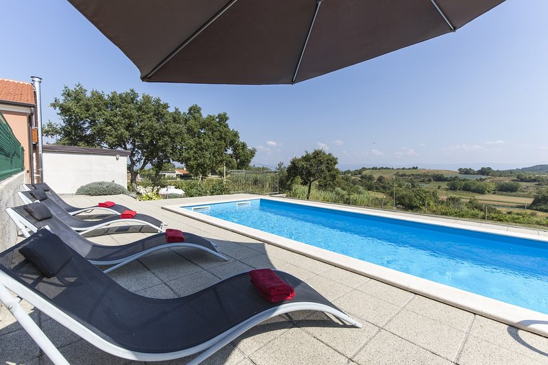 Beautiful Villa Ana Istra, with a Pool, vacation rental in Karojba